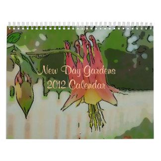 New Day Gardens 2012 Calendar- Watercolor Style