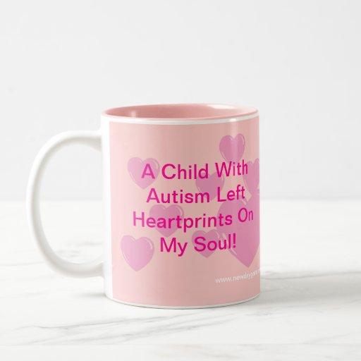 New Day Gardens Autism Awareness Mug Heartprints