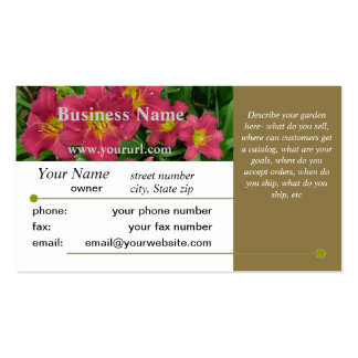 New Day Gardens Business Card Template- PM Brwn