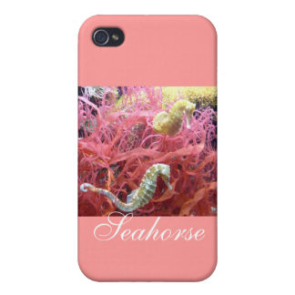 New Day Gardens Cases- Seahorse iPhone 4 Cases