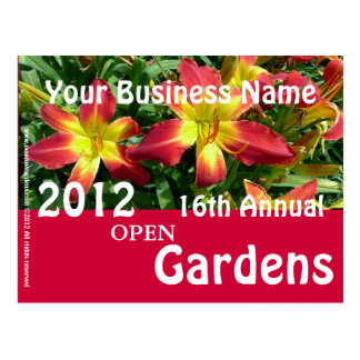 New Day Gardens Event Postcard-AAC