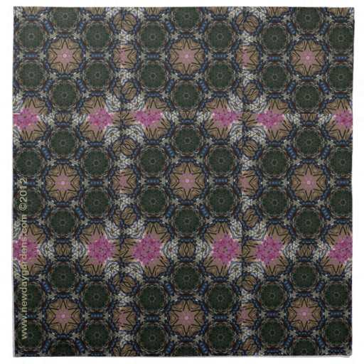 New Day Gardens Kaleidoscope Napkin- Swallowtail 2