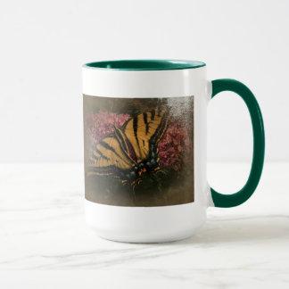 New Day Gardens Mug- Butterfly Antiqued style Mug