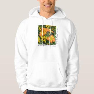 New Day Gardens Shirt- Go Daylilies! Hooded Sweatshirt