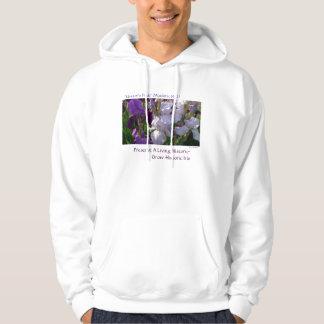 New Day Gardens Shirts- iris 'Eleanor's Pride' Hoodie