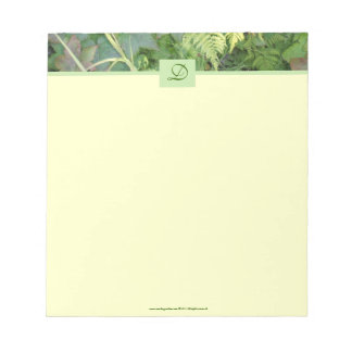 New Day Gardens Stationary-Woodland Leaves Memo Pads