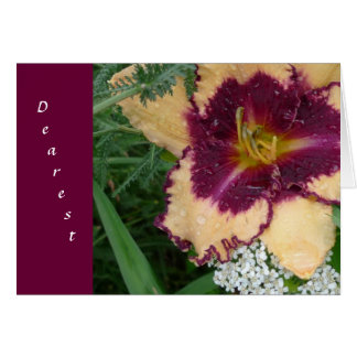New Day Gardens Valentine- More Than Daylilies Greeting Card