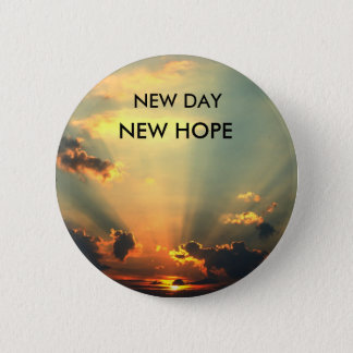 NEW DAY, NEW HOPE Button