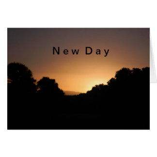 New Day-Note Card! Card
