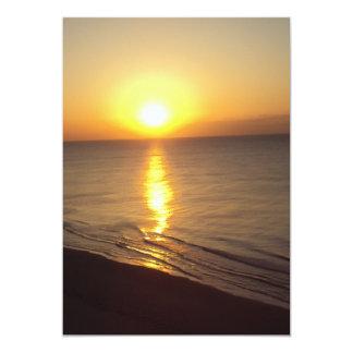 New Day Sunrise 5x7 Paper Invitation Card