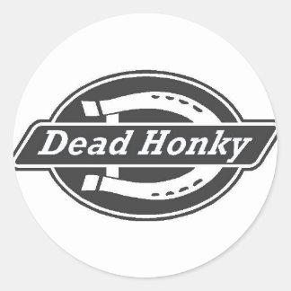 NEW DEAD HONKY MERCHANDISE CLASSIC ROUND STICKER