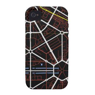 New Delhi Future Map iPhone 4/4S Cover
