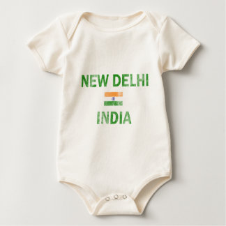 New Delhi India Designs Baby Bodysuit
