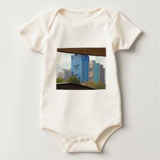 New Delhi India Landscape views from Metro Station Baby Bodysuit
