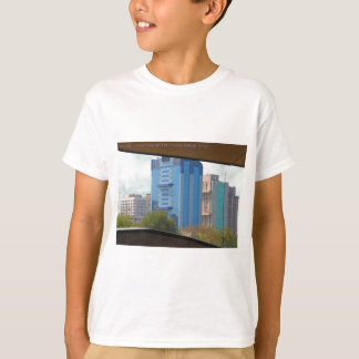 New Delhi India Landscape views from Metro Station T-Shirt