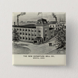 New Departure Bell Co, Miller Bros Cutlery Co Pinback Button