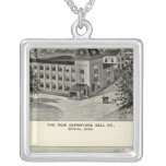 New Departure Bell Co, Miller Bros Cutlery Co Silver Plated Necklace