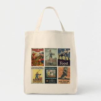 *NEW DESIGN* Victory Gardens Unite! Tote Part Two