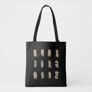 New designers tote bag : black with Art