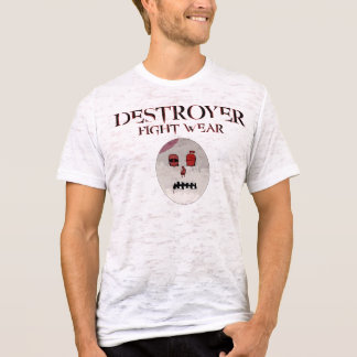 New Destroy Your Enemy Tight Fit Tee