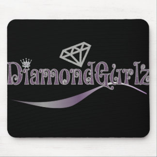 New Diamond Gurl Logo products Mouse Pads