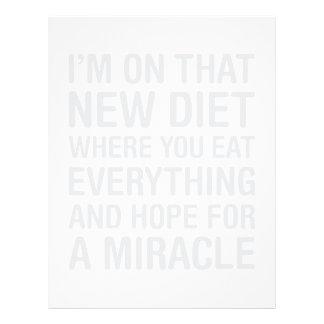 New Diet Letterhead