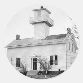 New Dorp Lighthouse Classic Round Sticker