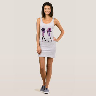 New dress in Shop : with model girls