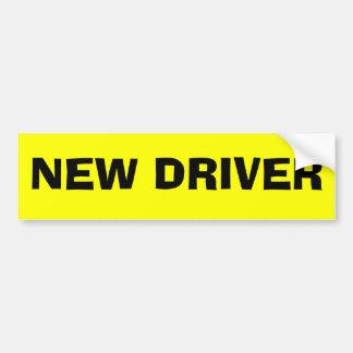 NEW DRIVER CAR BUMPER STICKER