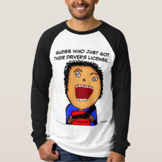 New Driver Cartoon T-Shirt