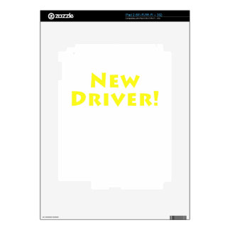 New Driver Decals For iPad 2