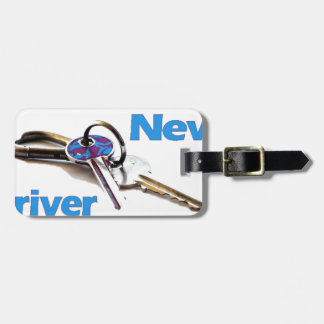 New Driver Luggage Tag