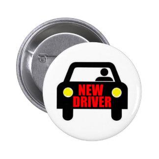 New Driver Pinback Button
