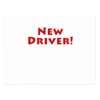 New Driver Postcard