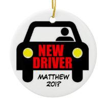 New Drivers License Keepsake Ceramic Ornament