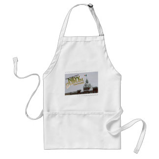 New Dublin, New London St. Patrick's Day celebrate Adult Apron