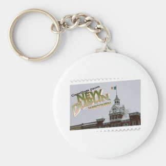 New Dublin, New London St. Patrick's Day celebrate Keychain