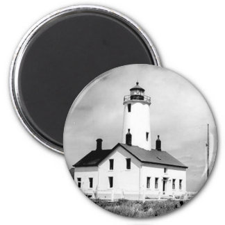 New Dungeness Lighthouse Refrigerator Magnets