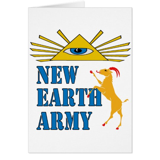 New Earth Army Card