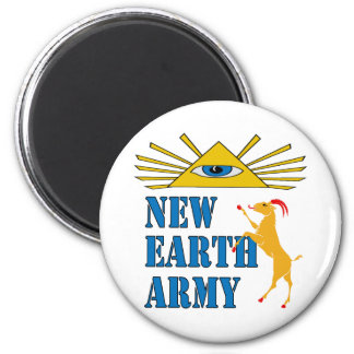 New Earth Army Magnet