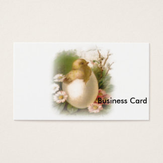 New Easter Chick Business Card