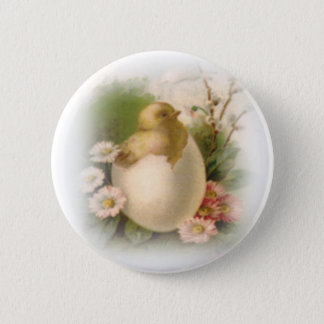 New Easter Chick Button