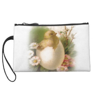 New Easter Chick Wristlet Wallet