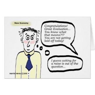 New Economy - Cartoon Guy - Card