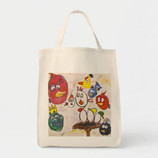 New Eggs on the Block by Ashley Sandy Mary Tote Bag