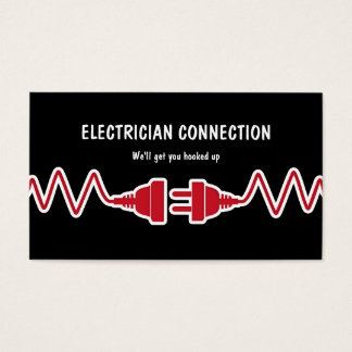 New Electrician Business Cards