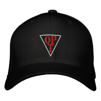 New Embroidered OPT Hat