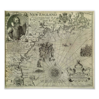New England - 1616 Poster