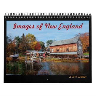 New England 2015 Calendar