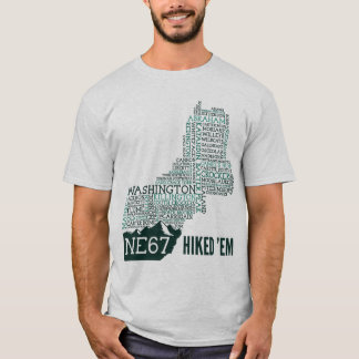 New England 67 Hiked T-Shirt